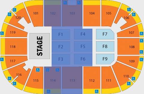 Agganis Arena Seating Chart